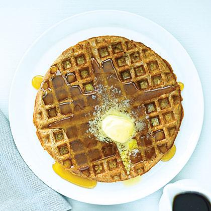 Oatmeal Cinnamon Waffles Recipe