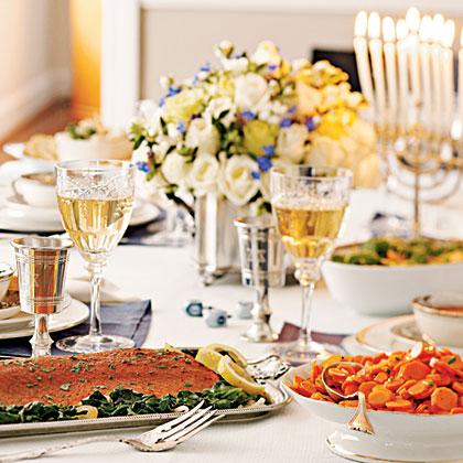Hanukkah Supper Menu