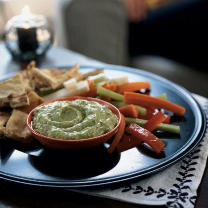 Avocado-Yogurt Dip with CuminRecipe