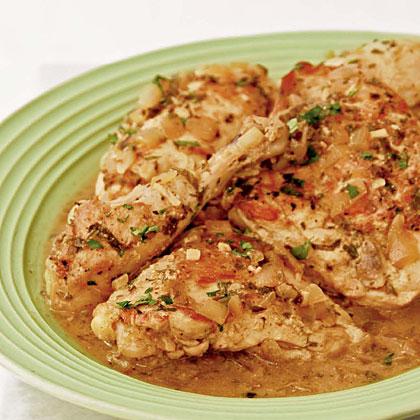 Dijon Mustard Chicken Fricassee Recipe