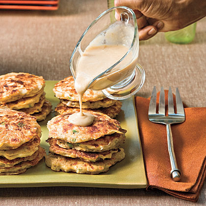 Chicken-and-Potato Pancakes Recipe