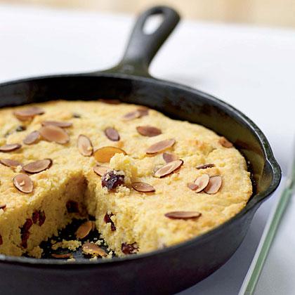 Almond-Cranberry Corn Bread