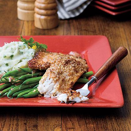 Pecan-Crusted Tilapia