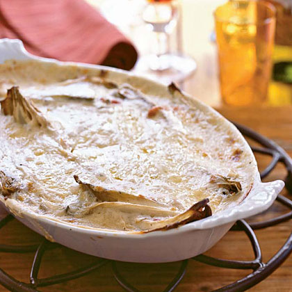 Gratin of Belgian Endive with Bacon (Gratin d'Endives Ardennaise) Recipe