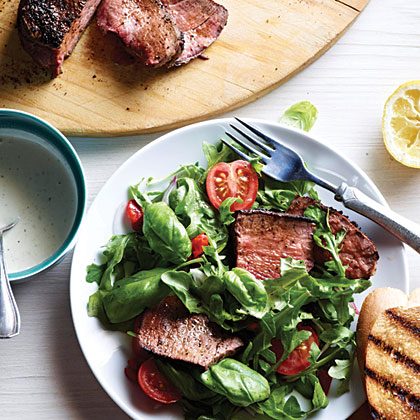 Ranch Steak Bruschetta SaladRecipe
