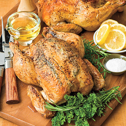A good roasted chicken is like a little black dress--always appropriate and very versatile.Marian's Easy Roast Chicken