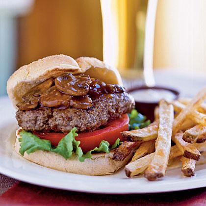 Smothered Steak BurgersRecipe