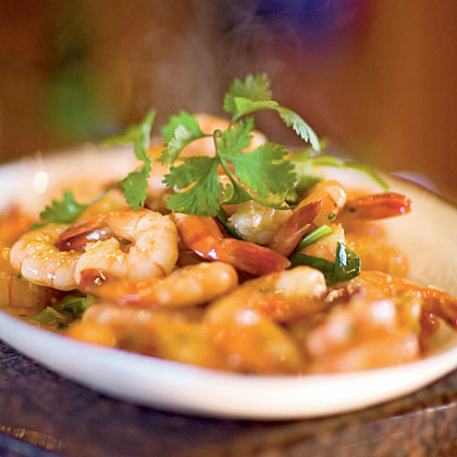 Stir-Fried Shrimp with Garlic and Chile Sauce Recipe