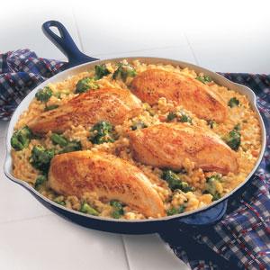 Campbells 15 Minute Chicken Rice Dinner