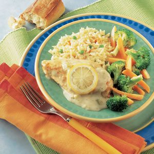 Campbells Lemon Broccoli Chicken
