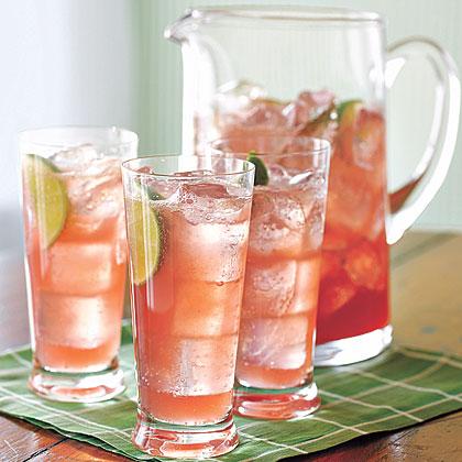 Raspberry-Lime Rickey