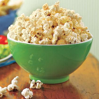 Garlic-Parmesan Popcorn Recipe