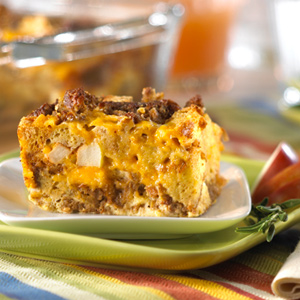 Apple Sausage Breakfast Casserole