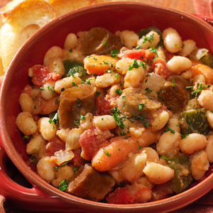 Easy Veggie Cassoulet