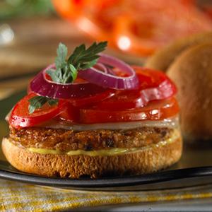 Garden Vegetable Deluxe Burger