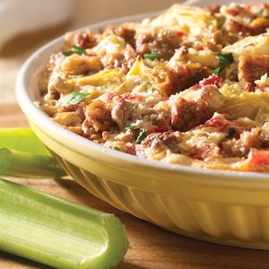 Hot Parmesan Artichoke Dip