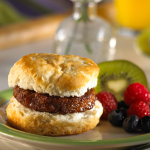 Maple Sausage Breakfast Sandwich