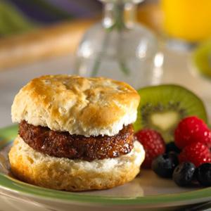 Maple Sausage Breakfast Sandwich