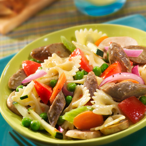Pasta Salad with Links