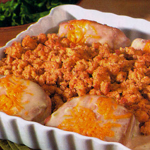 Pork Chops Amp Stuffing Bake Recipe Myrecipes