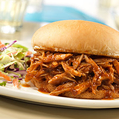 Campbells Slow-Cooked Pulled Pork Sandwiches Recipe