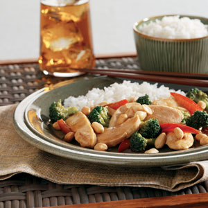Asian Chicken Peanuts