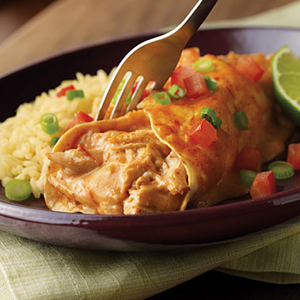 Campbell's Easy Chicken & Cheese Enchiladas