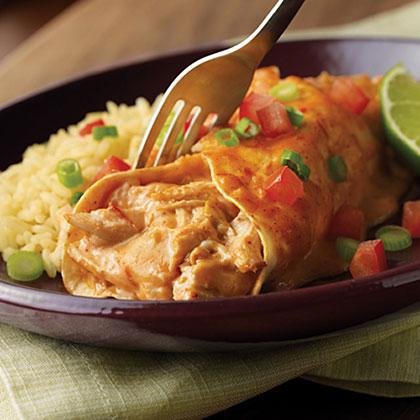 Campbell's Easy Chicken & Cheese Enchiladas Recipe