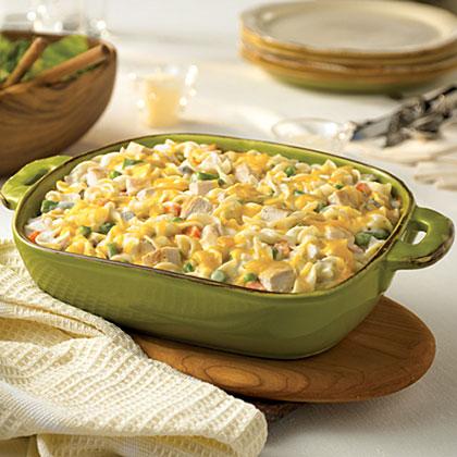 Hearty Chicken Noodle Casserole