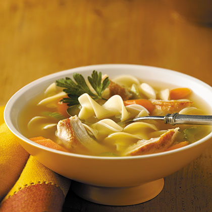 Swanson Sensational Chicken Noodle Soup Recipe