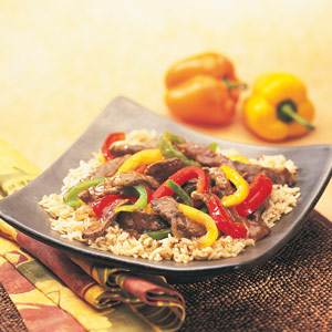 Swanson Steakhouse Beef Pepper Stir Fry
