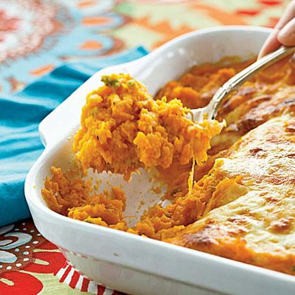 Sweet Potato-Jalapeño Casserole