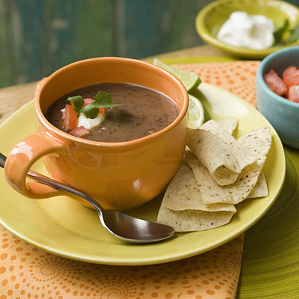 Creamy Black Bean Soup