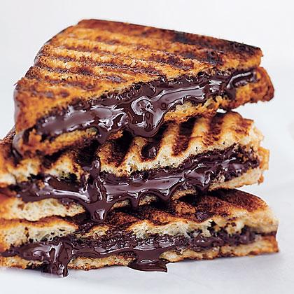 Chocolate Panini Recipe
