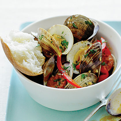 Steamed Clams and Chorizo Recipe