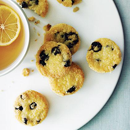 Blueberry Shortbread Bites Recipe
