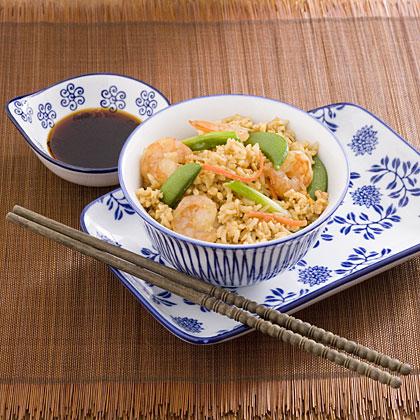 Shrimp and Veggie Fried Rice