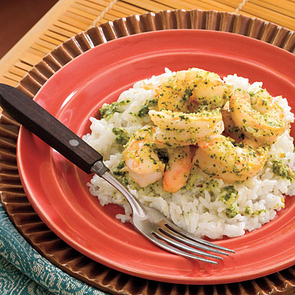 Thai Pesto Shrimp