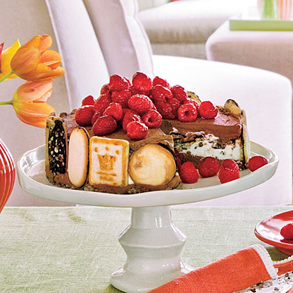 Triple Chocolate-Cookie Trifle PieRecipe