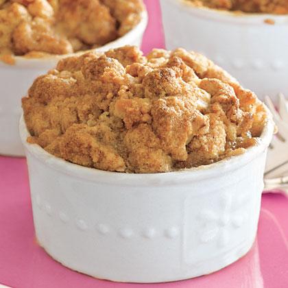 Individual Apple Crisps Recipe
