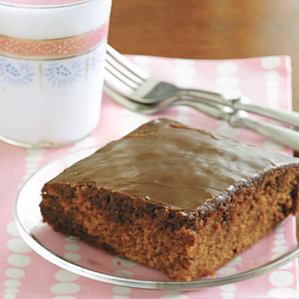 Chocolate Cola Cake with Cola FrostingRecipe