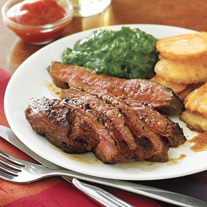 Cola- Marinated Flank Steak Recipe