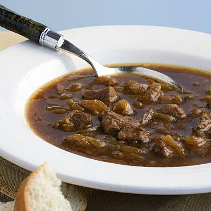 Beefy Vidalia Onion Soup
