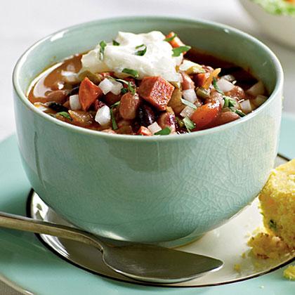 Anasazi and Black Bean Chili Recipe