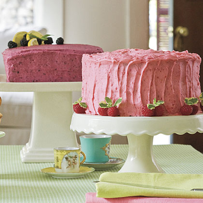 Blackberry Buttercream Frosting