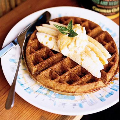 Buckwheat Belgian WafflesRecipe