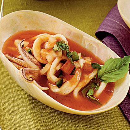 Calamari Cocktail Recipe