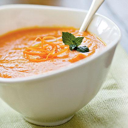 Creamy Carrot SoupRecipe