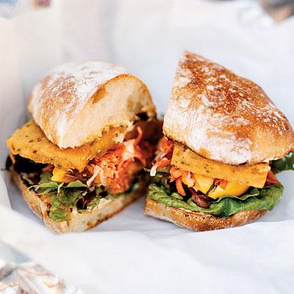 Spicy Chickpea Sandwiches Recipe