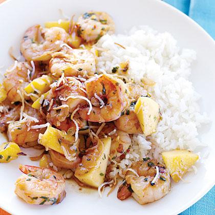 Spicy Mango Shrimp